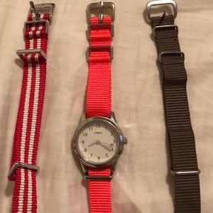 Timex vintage watch and changing bands